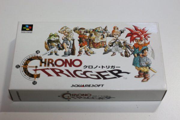 SFC版クロノ・トリガーのパッケージ(画像はAmazon.co.jpより)