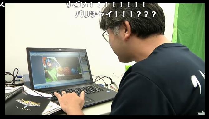 ブレ生放送中にドット絵を完成させる企画が実施されることも。放送中は、小林さんが割と雑に扱われるのもポイント(笑)。