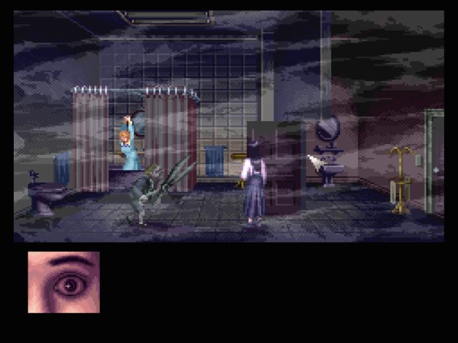 『クロックタワー』※画像はWiiU バーチャルコンソール版です。  (任天堂ホームページより)