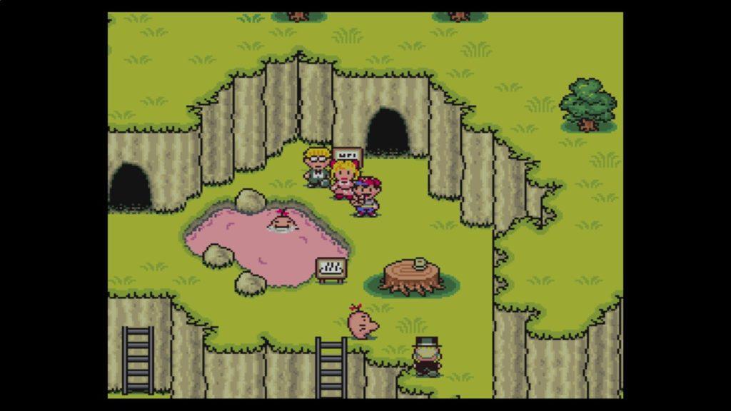 マザー2 ギーグの逆襲 (1994年8月27日/RPG/任天堂) (※画像はWiiUバーチャルコンソール版です。任天堂ホームページより)