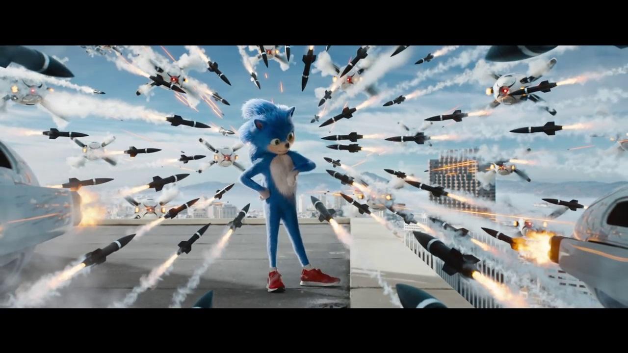 画像はYoutube 「Sonic The Hedgehog (2019) \u2013 Official Trailer」より)