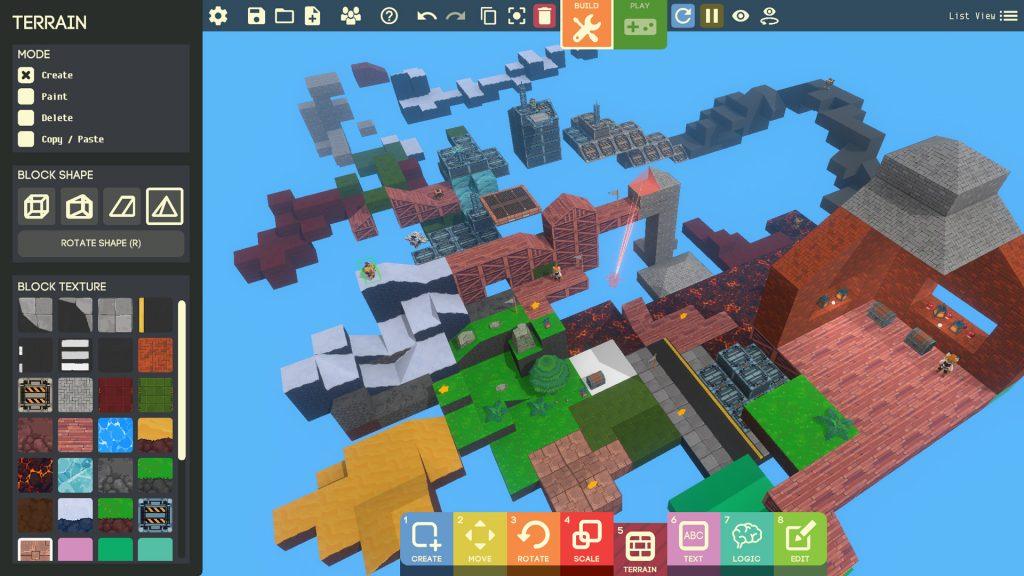 Googleが無料のゲーム制作ソフト『Game Builder』の新バージョン公開。『マイクラ』風のボクセルマップ制作やカードを使ったわかりやすいプログラミングが特徴