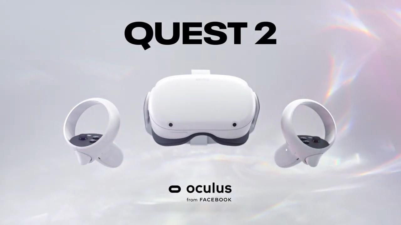 Facebook Oculus アカウント 2 quest