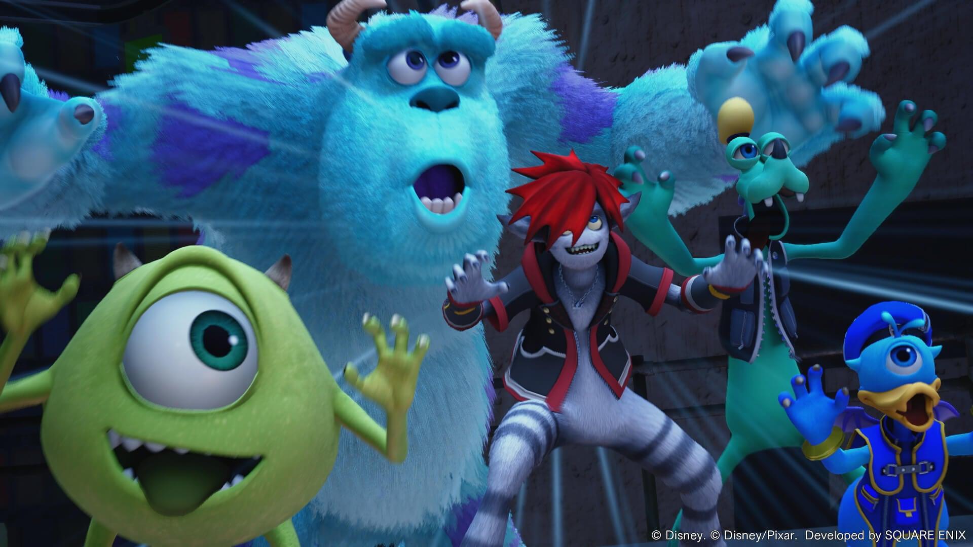 © Disney. © Disney/Pixar. Developed by SQUARE ENIX