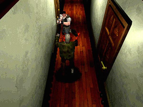 PS1の『バイオハザード』が登場するまでは、誰もが恐怖を感じるに足るビジュアルやサウンドを表現したホラーゲームはほとんど存在していなかった。 ※画像はゲームアーカイブス版『バイオハザード ディレクターズ・カット』のものです。(プレイステーション オフィシャルサイトより)