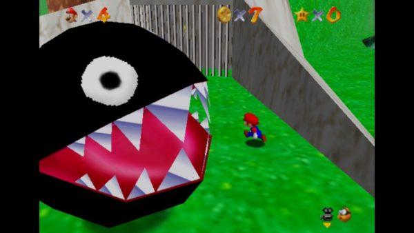 初代『バイオハザード』と同年に発売された『スーパーマリオ64』。