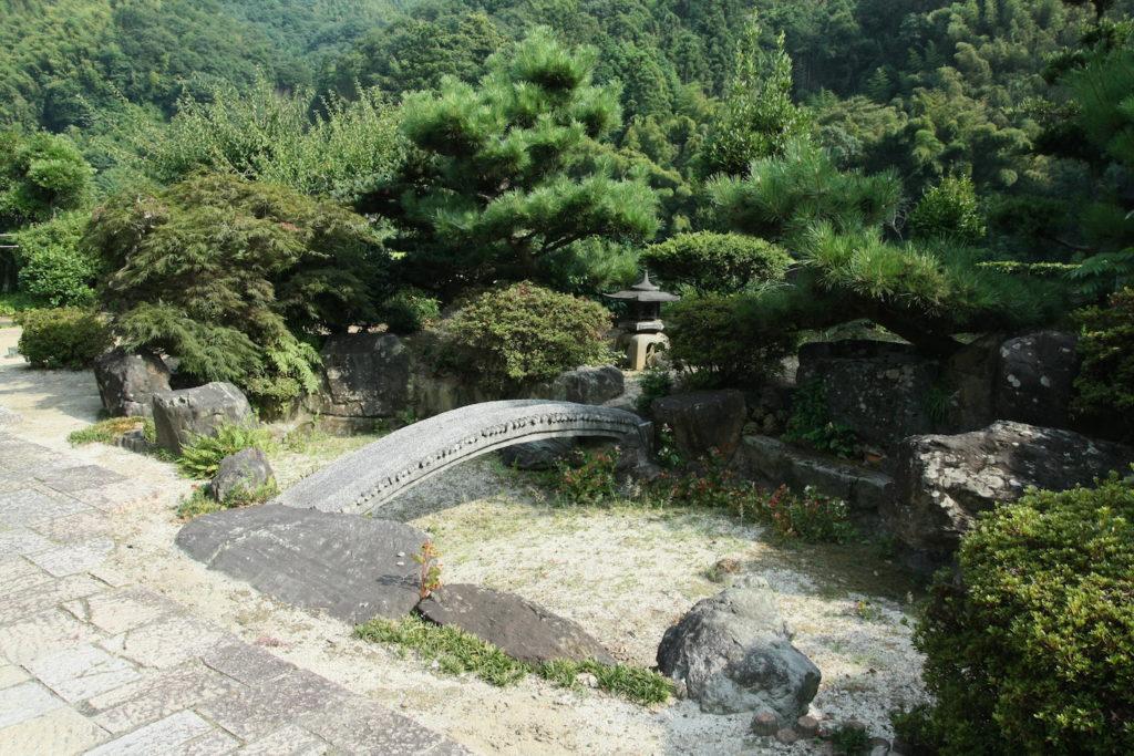 永井家の庭