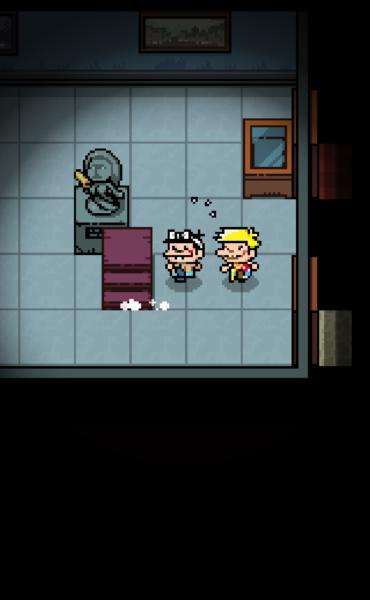 室内を調べて謎を解きながら洋館を進んでいく。怪しいところはすぐにタップ!