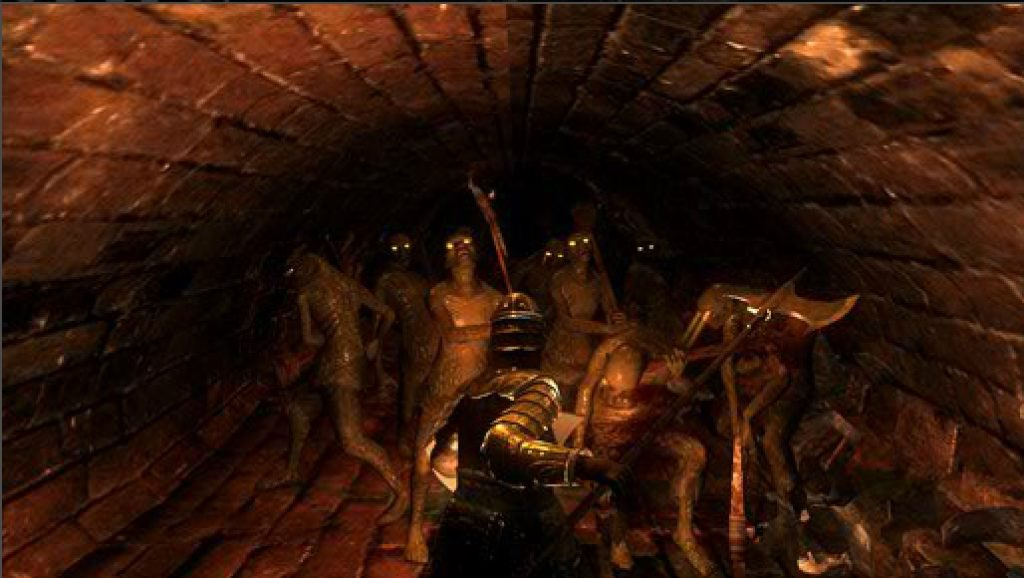 """※『デモンズソウル』 2009年にSCE(現・SIE)から発売された、PS3用のアクションRPG。開発をフロム・ソフトウェアが担当しており、ディレクターの宮崎英高氏はその後、『ダークソウル』シリーズや『Bloodborne』を手がけることになる。""""心が折れそうだ""""というゲーム中のメッセージがプレイヤーの間で定着するほど、歯ごたえのある難易度が口コミで話題を呼び、日本だけでなく海外でも高い人気と評価を獲得した。(画像はプレイステーションオフィシャルサイトより)"""