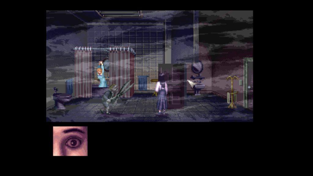 クロックタワー(1995年9月14日/ACT/ヒューマン) (※画像はWiiUバーチャルコンソール版です。任天堂ホームページより)